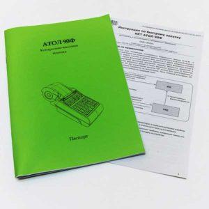 Онлайн-касса Атол-90ф документация