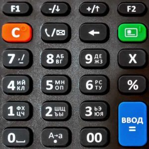 АТОЛ 91Ф онлайн-касса клавиатура