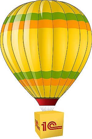 Воздушный шар 1с